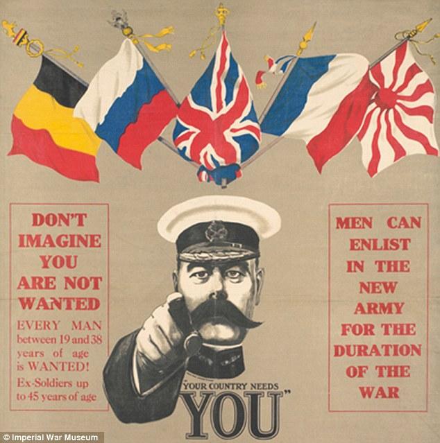 Drawn poster propaganda Image of printed millions Government