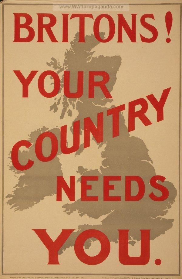 Drawn poster propaganda From images 17 Page British