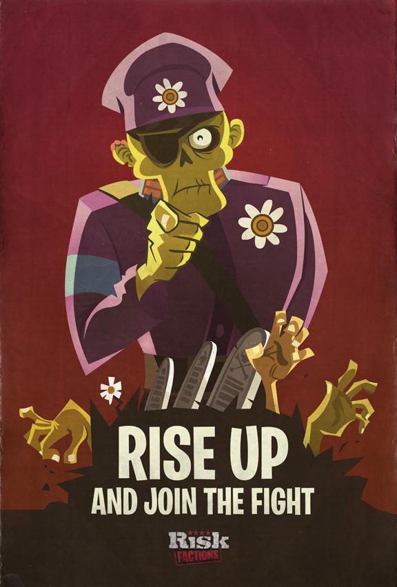Drawn poster propaganda Poster propaganda Zombie Drawn Zombie