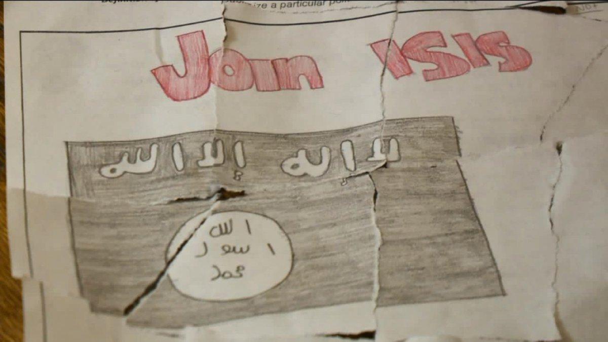Drawn poster propaganda For FOX31 terrorist to poster