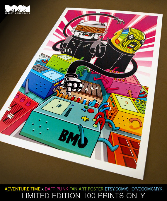 Drawn poster punk Art Time Limited x Edition