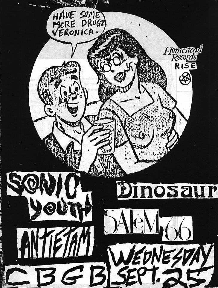 Drawn poster punk gig 340 Pin about images more