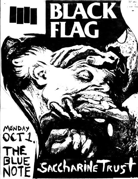 Drawn poster punk gig 127 Pin about images more