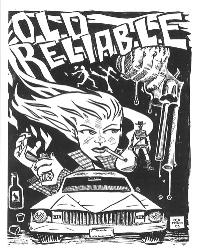 Drawn poster punk gig Show 49f7 punk scenesters aging