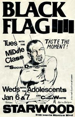Drawn poster punk gig EDITION CLASSIC com rockandrolljunkie POSTERS: