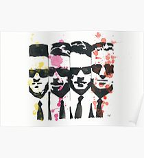 Drawn poster reservoir dog Redbubble Drawing: Poster dogs Reservoir