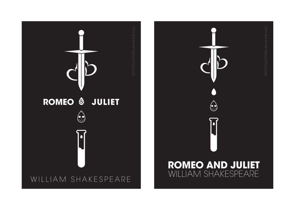 Drawn poster romeo and juliet Design Search and Search Pinterest