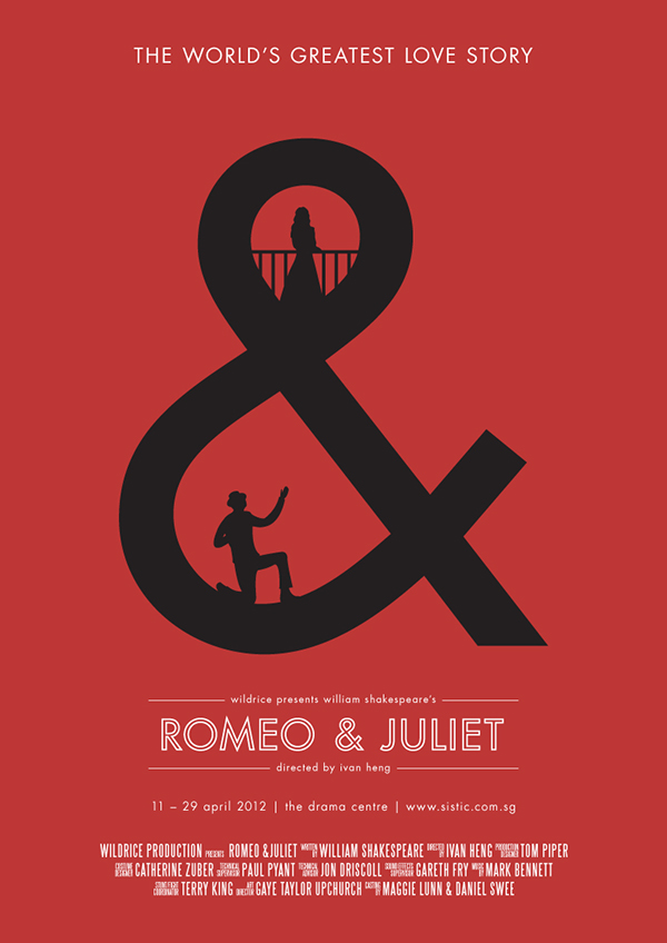 Drawn poster romeo and juliet And as Photography perseverance &
