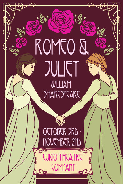Drawn poster romeo and juliet And NYTimes the Gallagher Behind