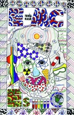 Drawn poster science School Las Poster  10