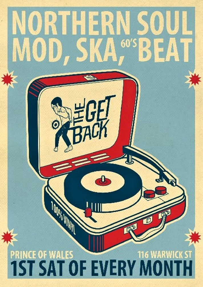 Drawn poster soul music And about Beat illustrator: Pinterest