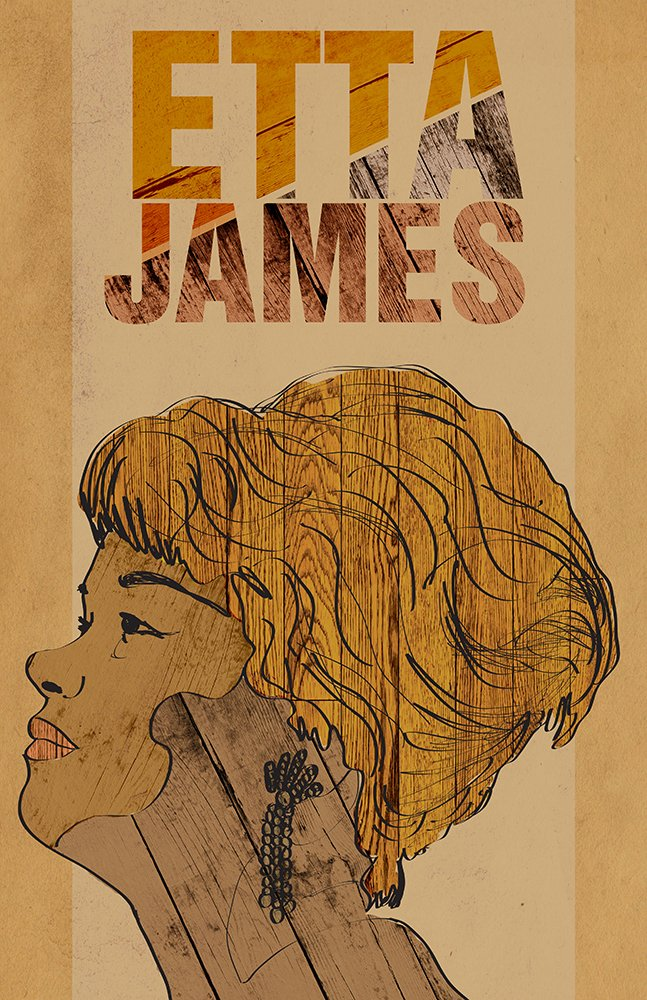 Drawn poster soul music / Edition Limited / Poster