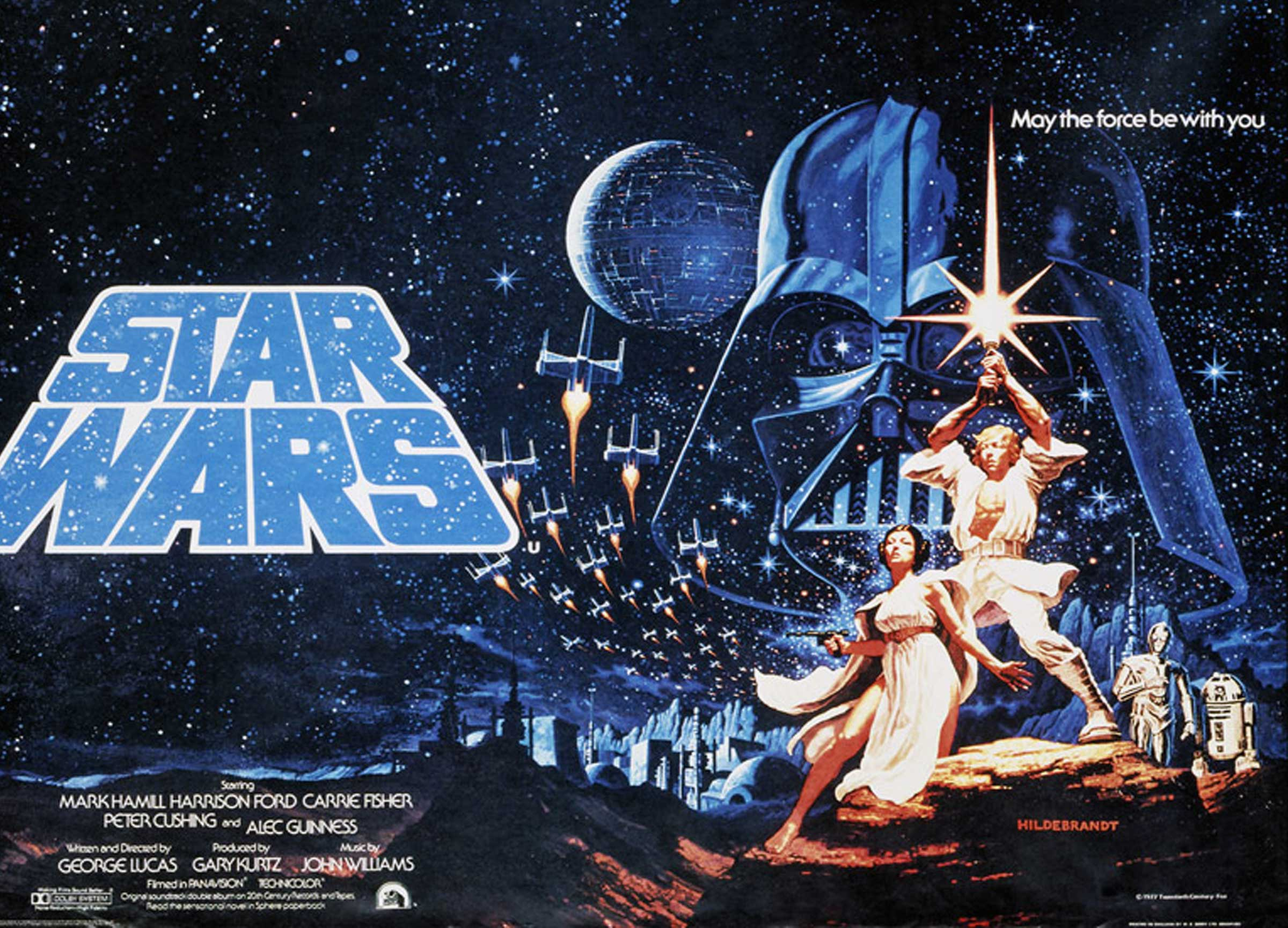 Drawn poster star wars The or are  star