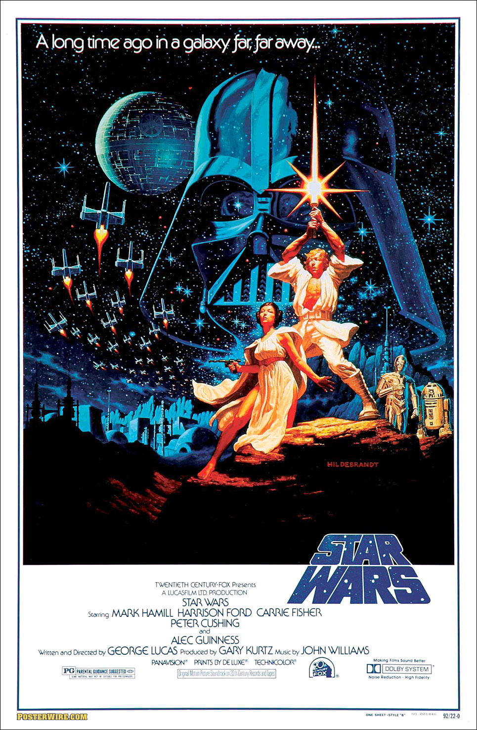 Drawn poster star wars Hand Blog » Edwin Manly