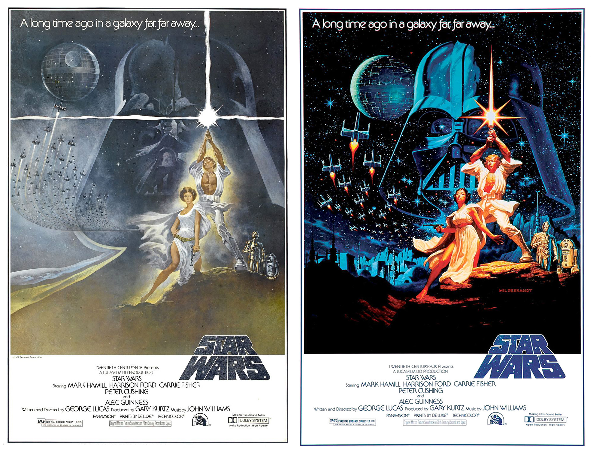Drawn poster star wars Who  the what fast