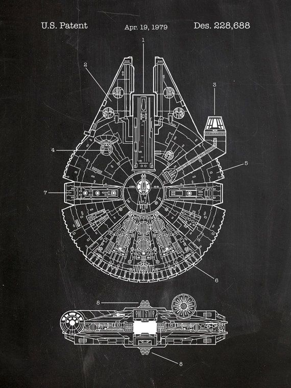 Drawn poster star wars Technical Millenium Pinterest 25+ on