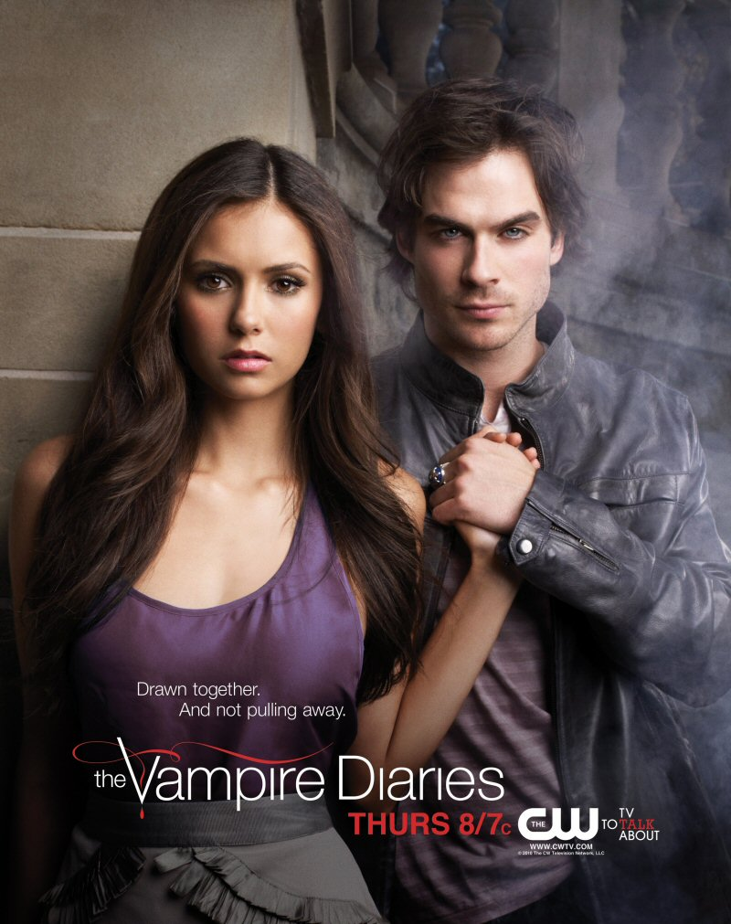 Drawn poster vampire diaries cast The Diaries' Some Vampire In