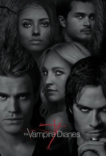 Drawn poster vampire diaries cast Posters Pinterest ✭ and Posters