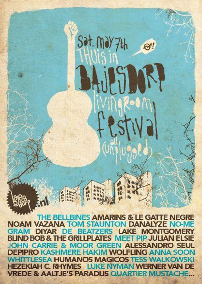 Drawn poster vintage festival Poster 60 about Pinterest best