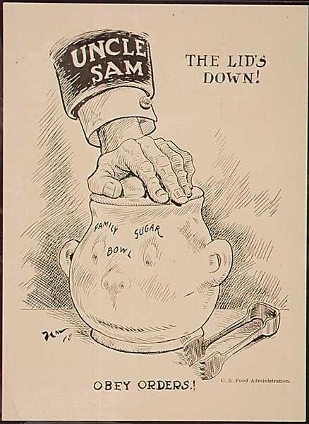 Drawn poster ww1 propaganda Rationing posters US 98 poster