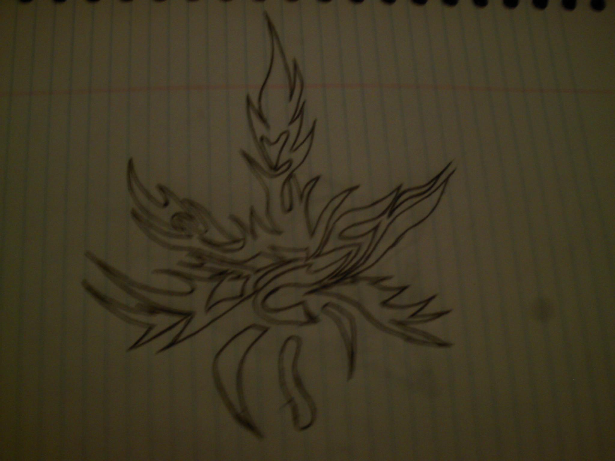 Drawn pot plant tribal On deathbyvomit plant by DeviantArt