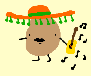 Drawn potato Mexican Mexican Jessica192) potato (drawing