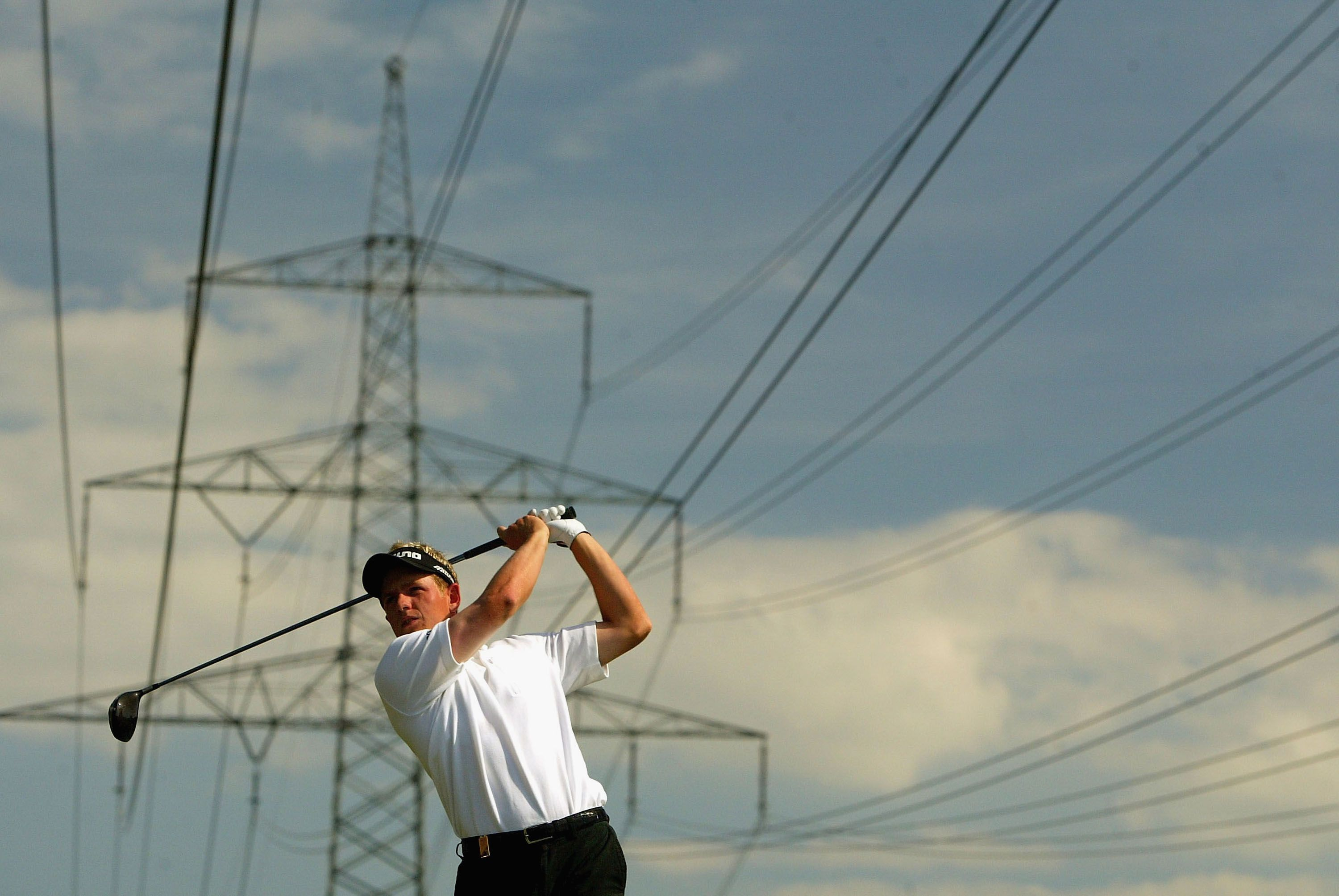 Drawn power line electric post Power  Do Your Hits