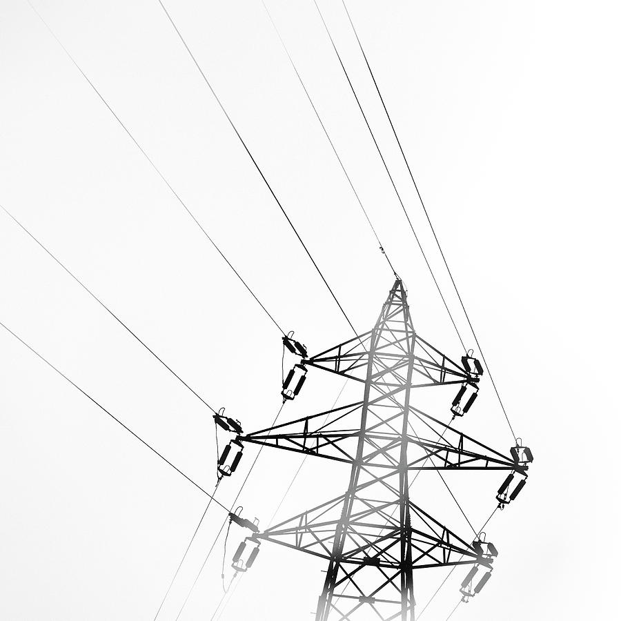 Drawn power line electric tower Electricity To 2017 2 Electricity