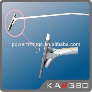 Drawn power line electrical pole Power Street Galvanized electric Pole