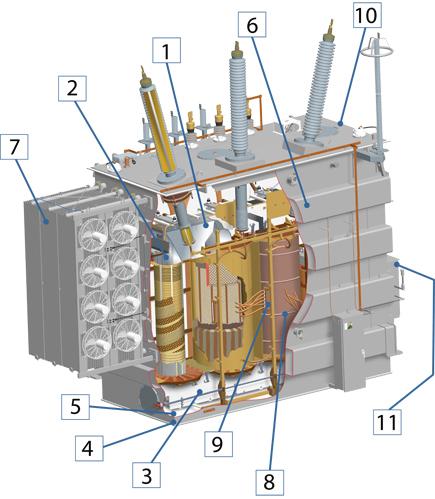 Drawn power line electrical transformer Electrical Transformer Design quality Power