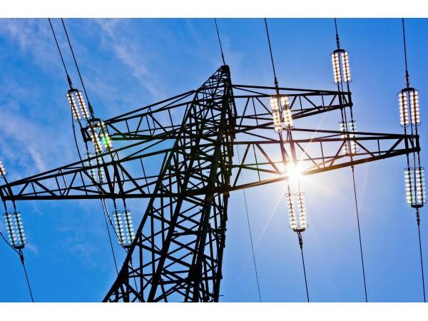 Drawn power line high voltage To Voltage High County Voltage
