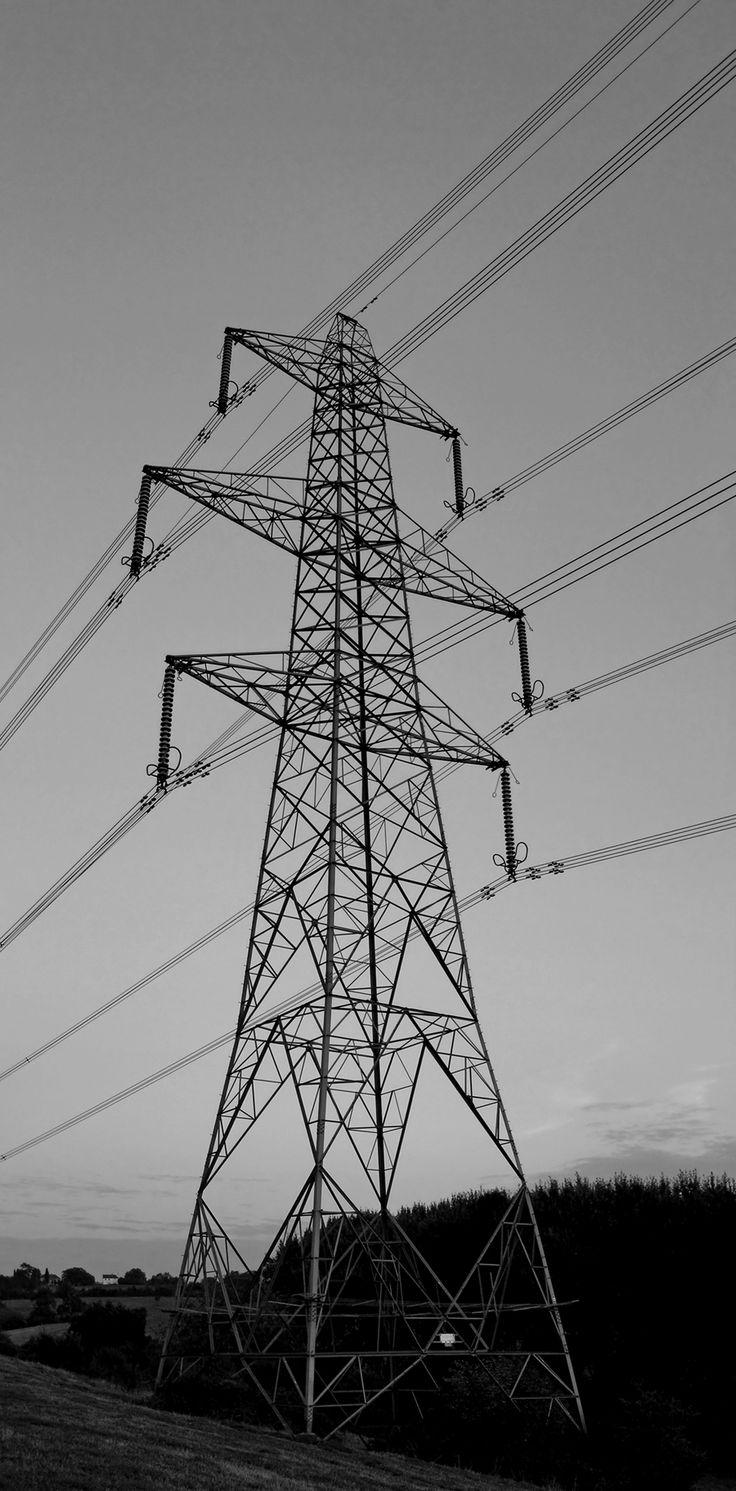 Drawn power line poste Postes about Pinterest best images