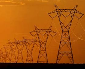 Drawn power line power grid Zee How Power grid failure: