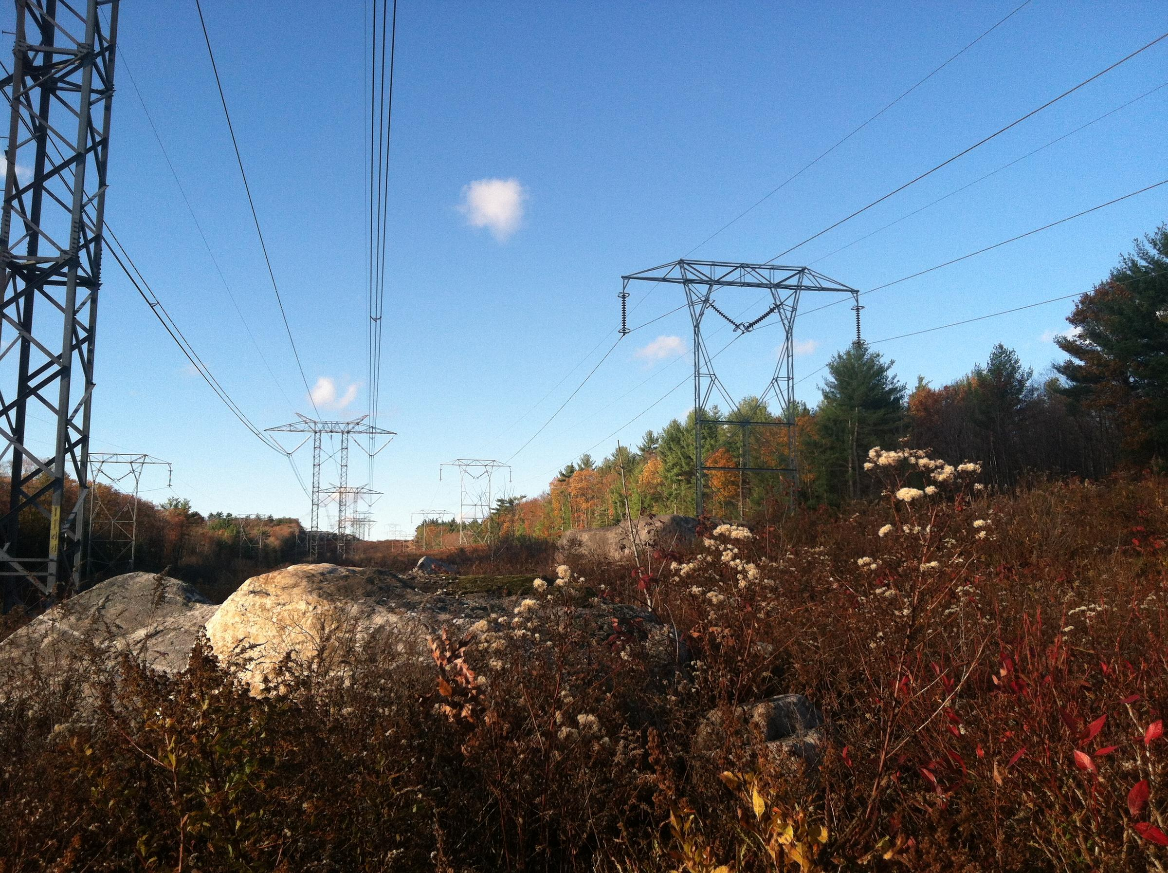 Drawn power line power grid HVDC N Power Push: 's