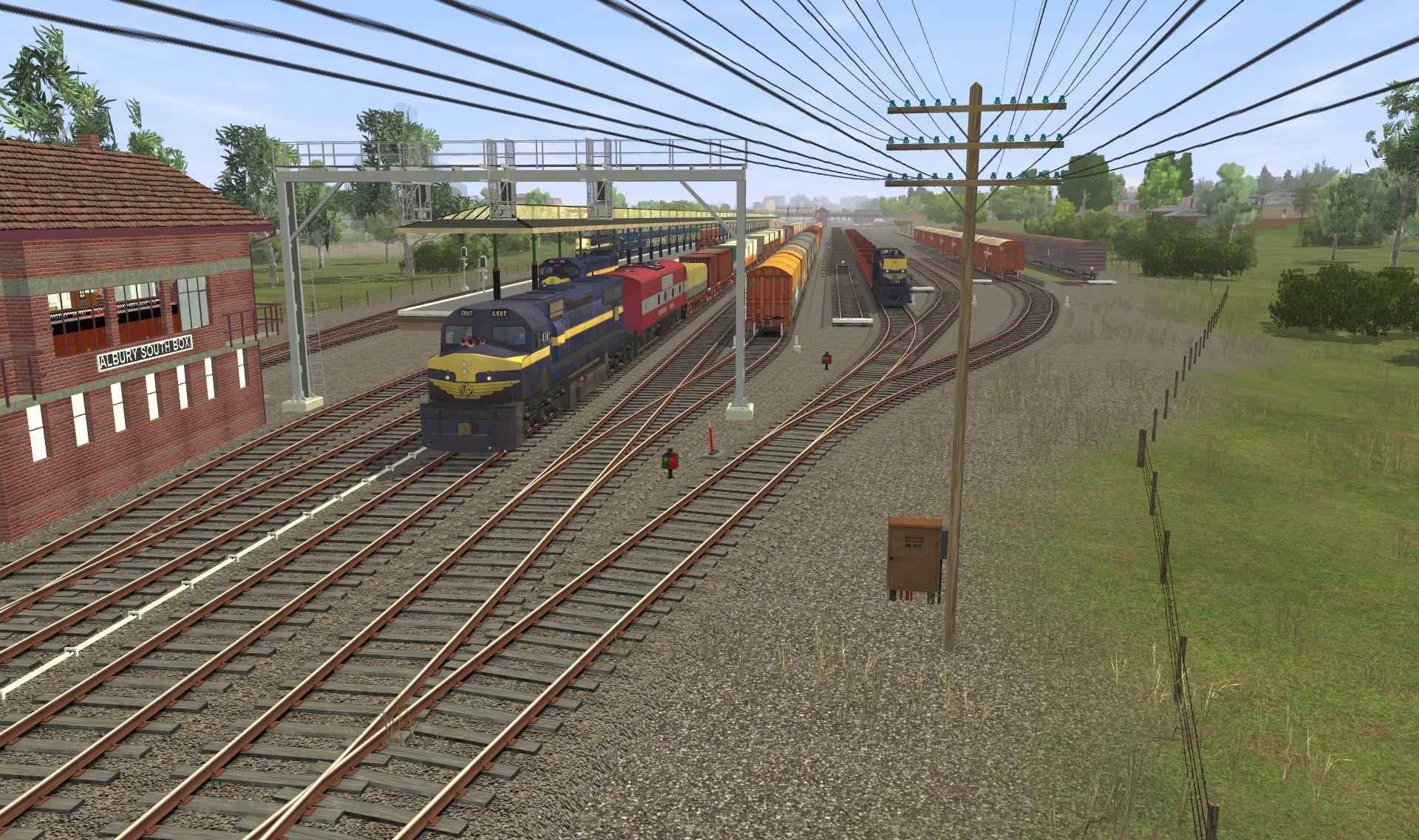 Drawn power line trainz Screenshots Discussion Australian 125 Forums