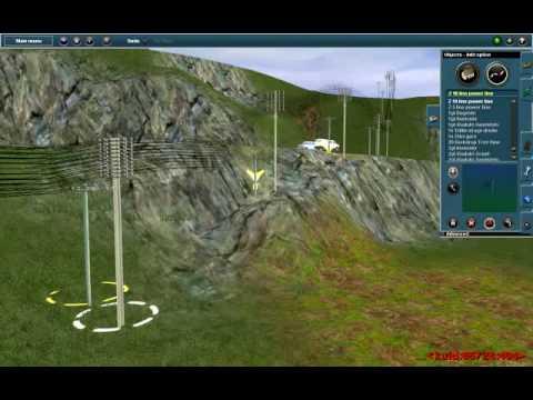 Drawn power line trainz Power lines 2009 2009 YouTube