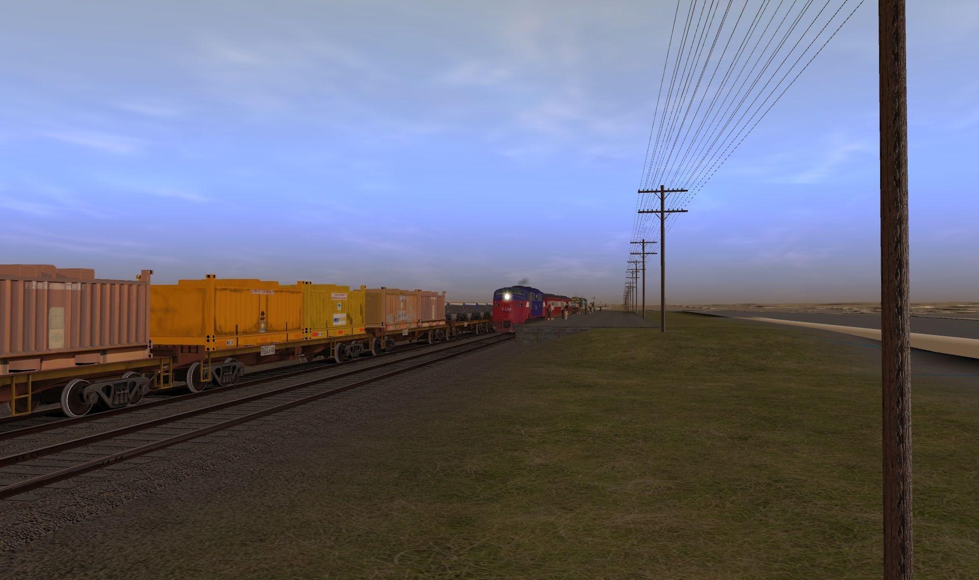 Drawn power line trainz Screenshots Discussion Australian 121 Forums
