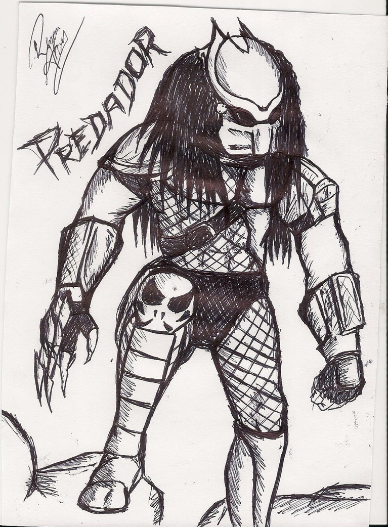 Drawn predator Drawn Predator Predator Drawn TheRhaze