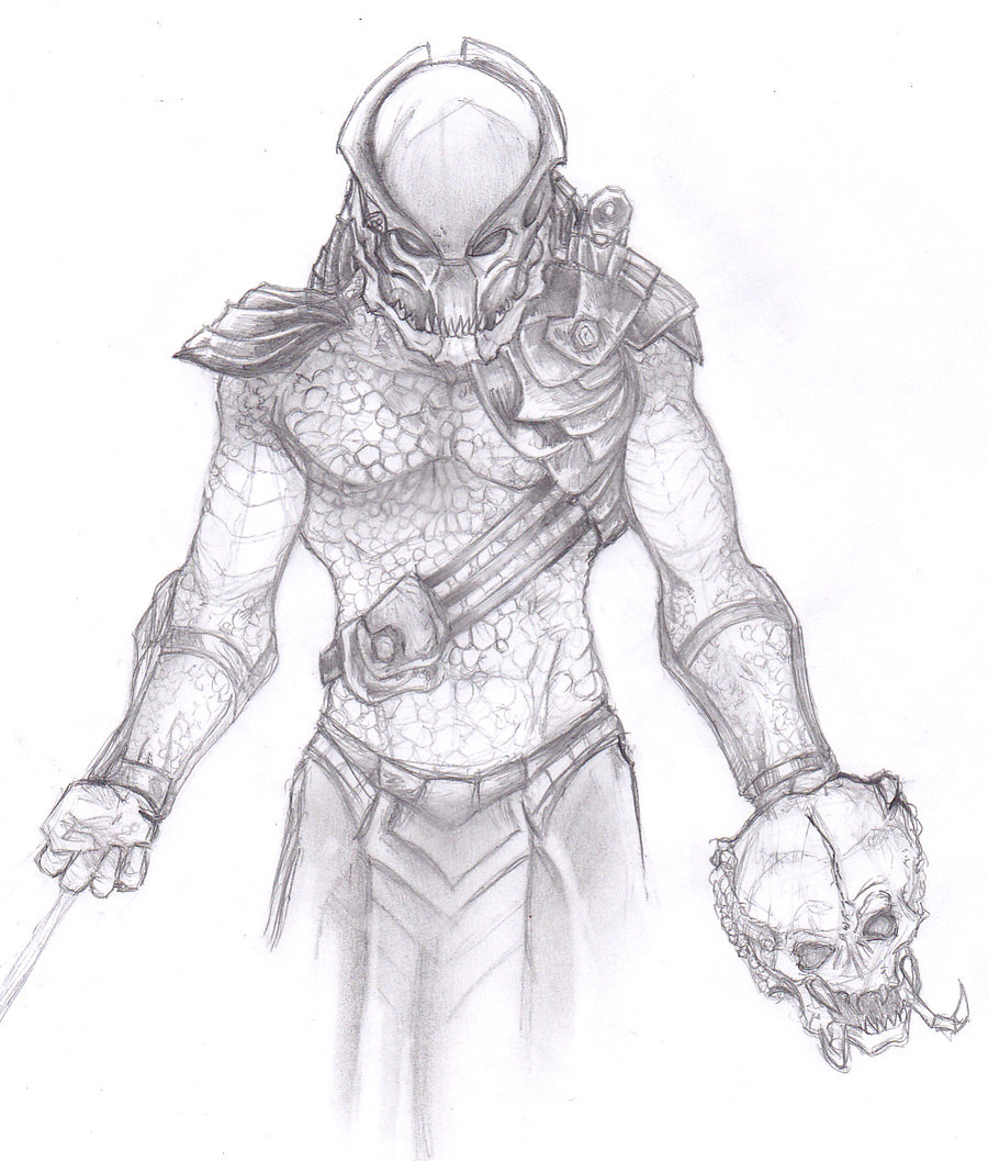 Drawn predator Predator ChrisOzFulton by by Elder