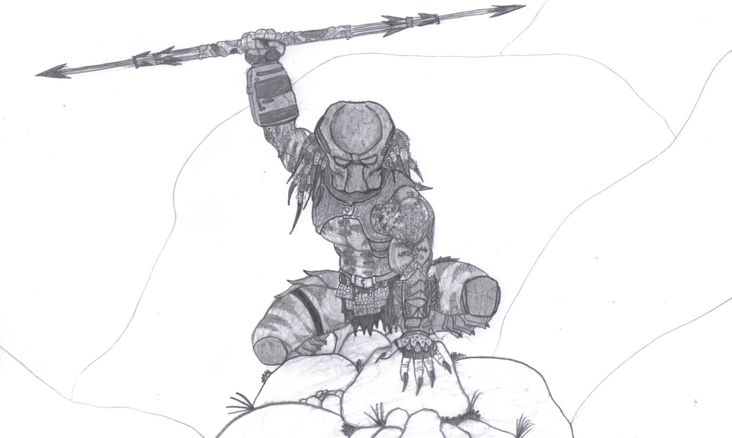 Drawn predator Bender1988 Artworks