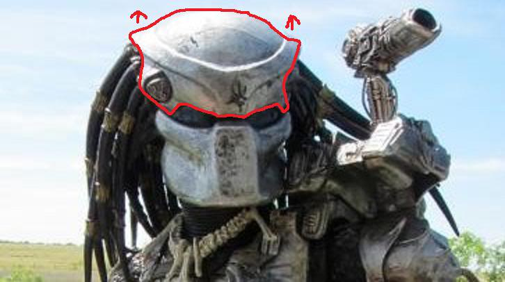 Drawn predator 4 scale The line helmet NECA Page
