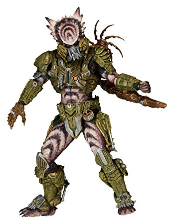 Drawn predator 4 scale Tail Figure Spike Predator Tail