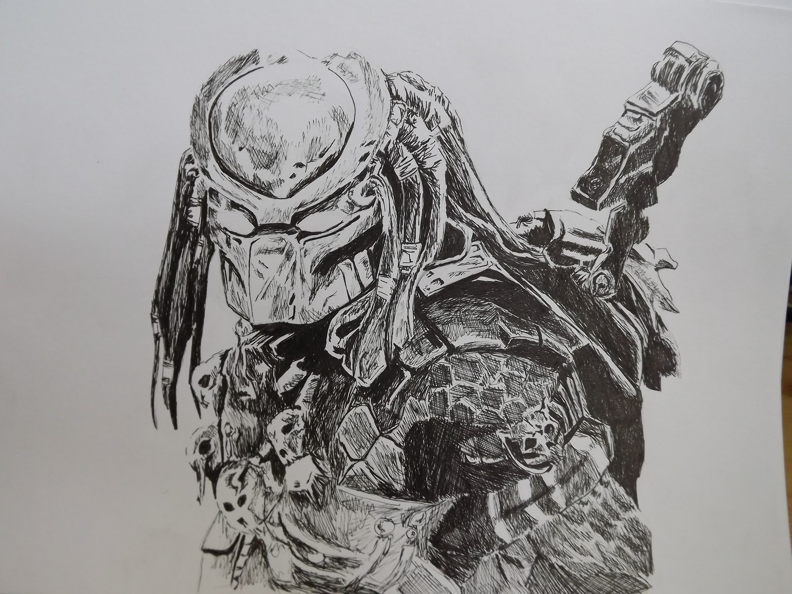 Drawn predator Work and  Fun