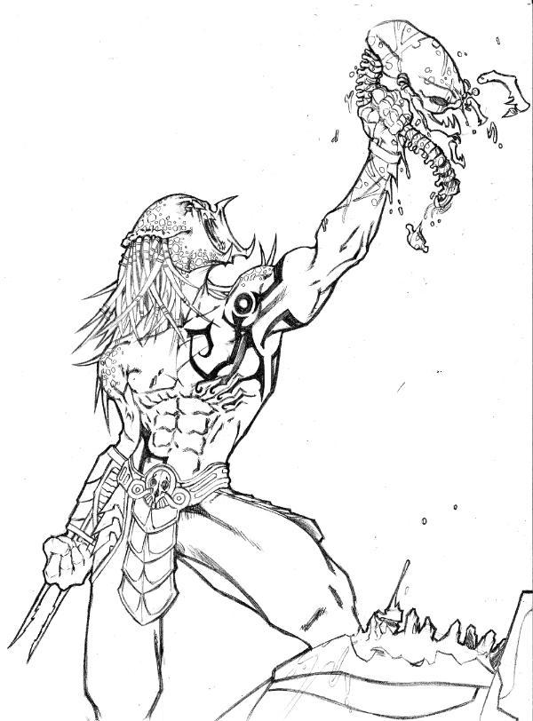 Drawn predator arbiter ShrubbyTreeBush by DeviantArt on by