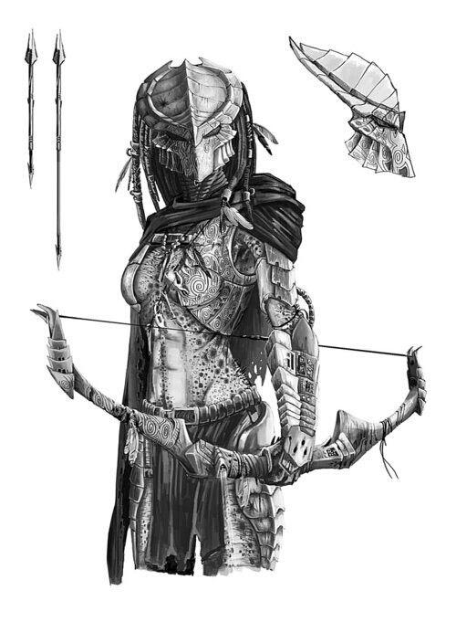 Drawn predator arbiter 157 on Pinterest Predator images