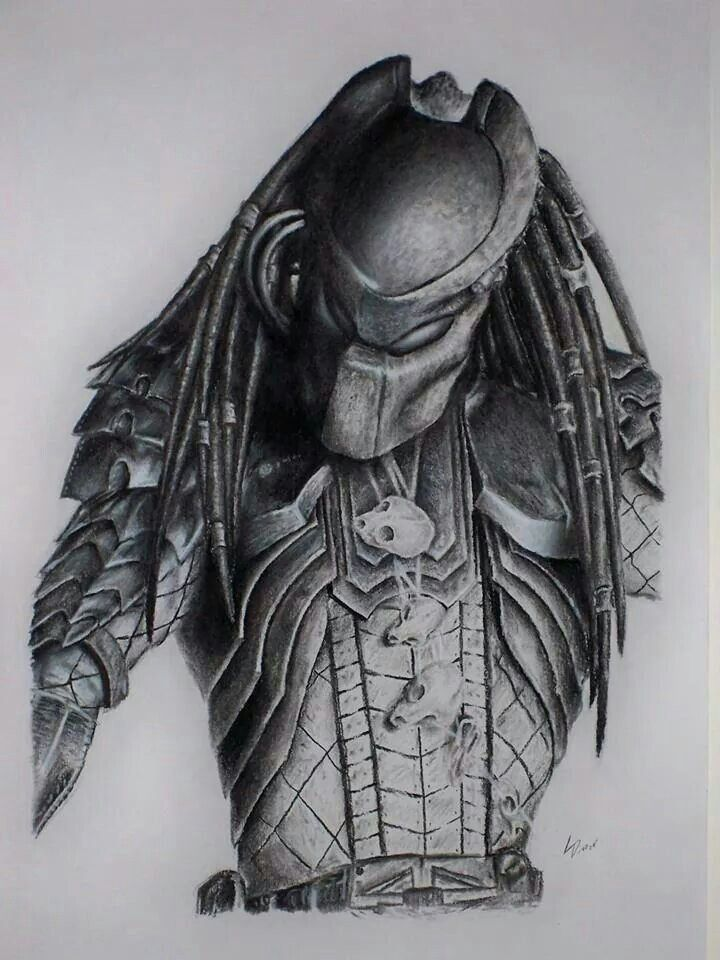 Drawn predator awesome 912 Predator on drawing by