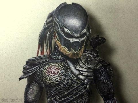 Drawn predator berserker Speed Hyperrealistic Hyperrealistic Speed draw