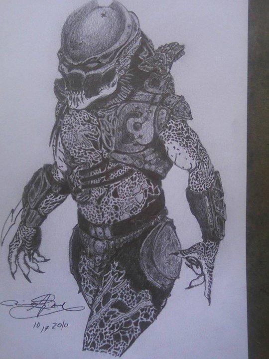 Drawn predator berserker On Predator Berserker Razor Predator