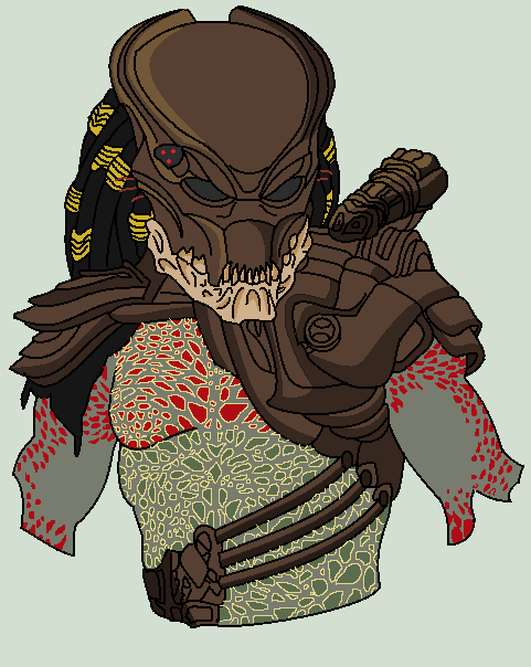 Drawn predator berserker On predator Berserker by ttresnan11