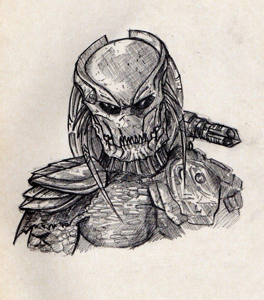 Drawn predator berserker By yongki VaanDark berserker DeviantArt